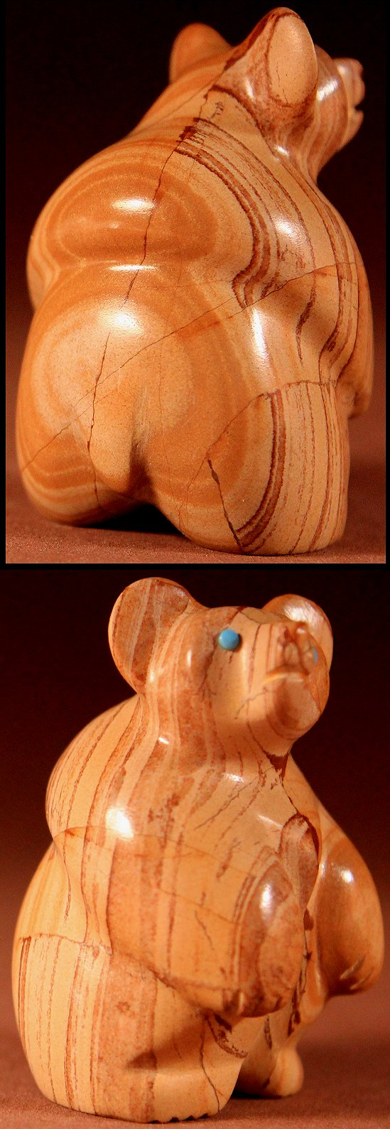 Zuni Spirits is proud to represent a variety of Zuni fetish carvers, including Vernon Lunasee & Prudencia Quam !