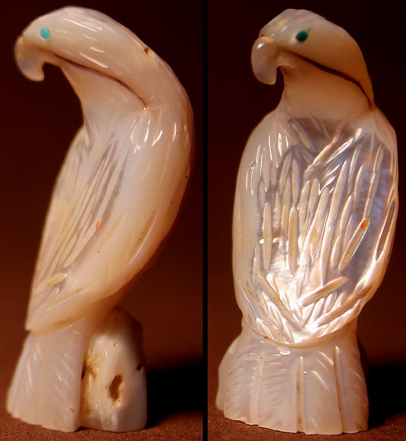 Zuni Spirits is proud to represent a variety of Zuni fetish carvers, including Andres Quandelacy!