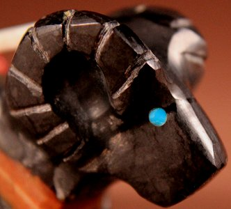 Donovan Laiwakete   Picasso Marble   Ram    Price: $65. +  $9.25  domestic shipping   Texas sales tax applies to Texas Residents!   CLICK  IMAGE for more views & information.   Authentic Zuni fetishes direct from Zuni Pueblo to YOU from Zunispirits.com!