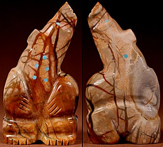 Zuni Spirits is proud to represent a variety of Zuni fetish carvers, including Bennie Bacy!