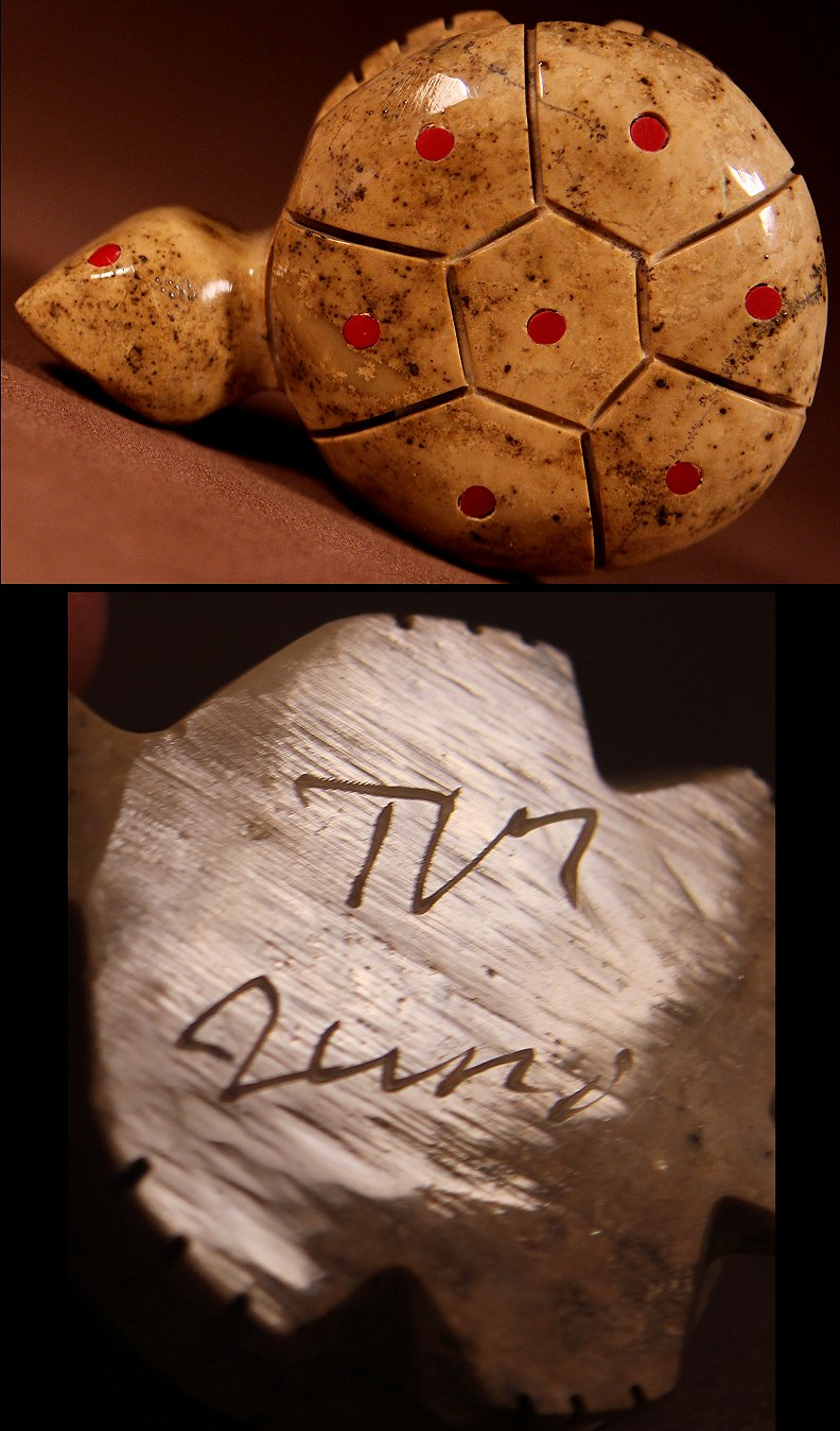 Zuni Spirits is proud to represent a variety of Zuni fetish carvers, including Terrence Martza!
