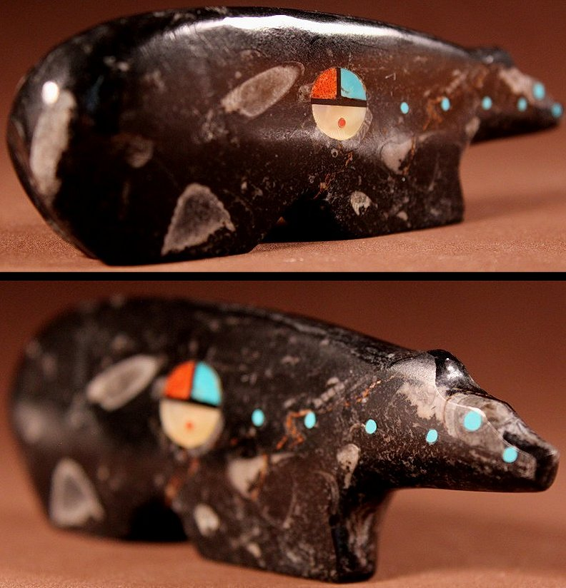 Zuni Spirits is proud to represent a variety of Zuni fetish carvers, including Lynn Quam !