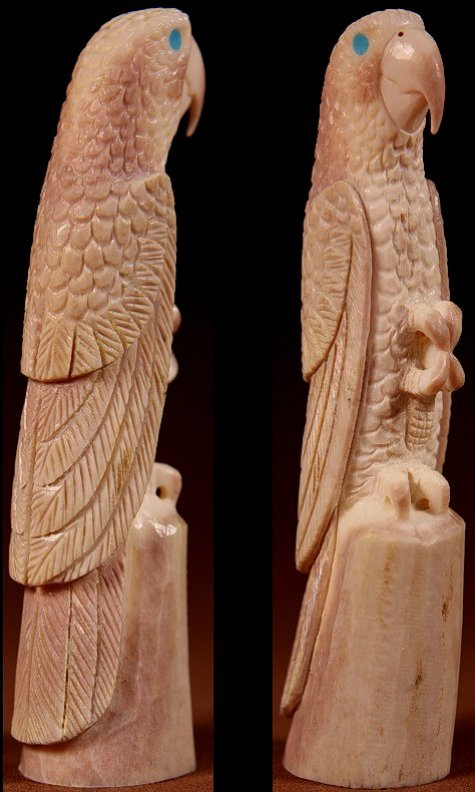 Zuni Spirits is proud to represent a variety of Zuni fetish carvers, including Charles Martinez, Jr.!