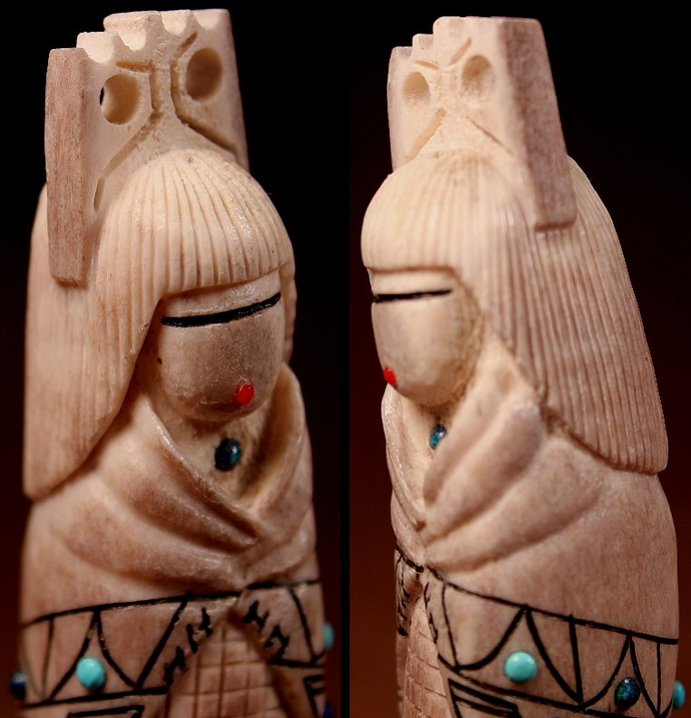 Zuni Spirits is proud to represent a variety of Zuni fetish carvers, including Norman Cooeyate & Jacqueline Ghahate!